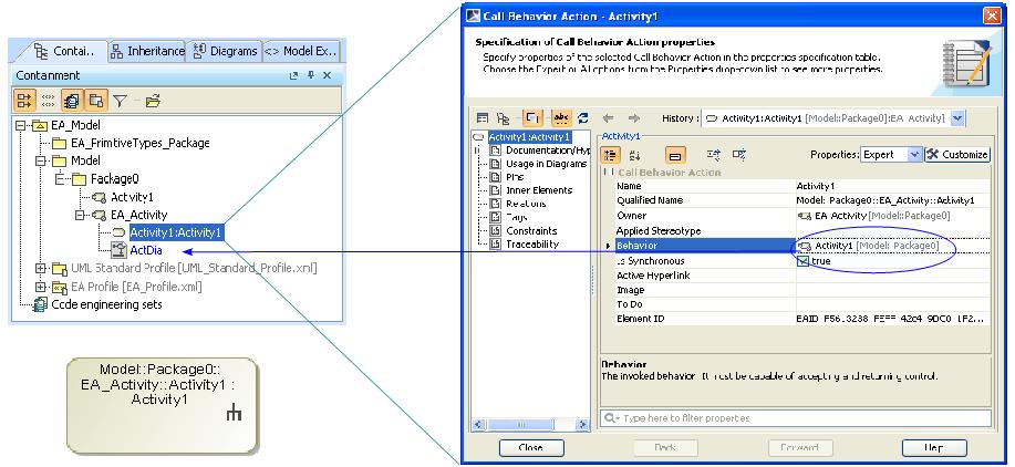 Activity Diagram Elements Enterprise Architect Import Plugin 18 5 Documentation