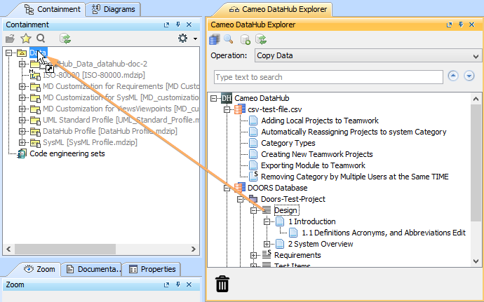 sc 1 st  No Magic Documentation & Copying Requirements to a modeling tool as the Use Case diagram