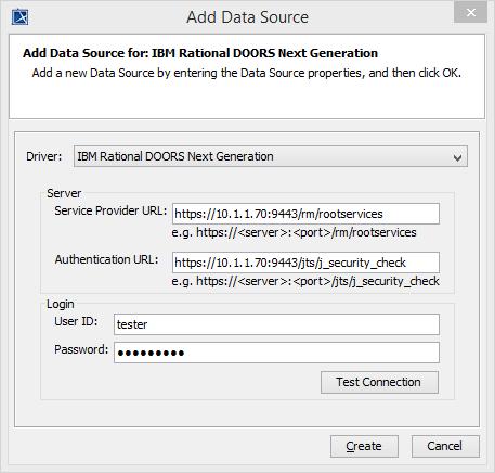 Adding an IBM Rational DOORS Next Generation data source - Cameo DataHub 18.1 - No Magic Documentation  sc 1 st  No Magic Documentation & Adding an IBM Rational DOORS Next Generation data source - Cameo ...