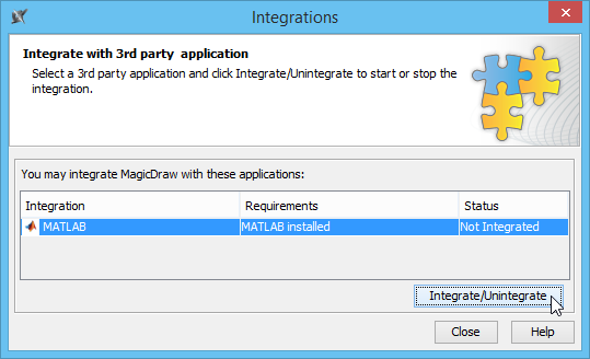 Integration with MATLAB® - Cameo Simulation Toolkit 18 2 - No Magic