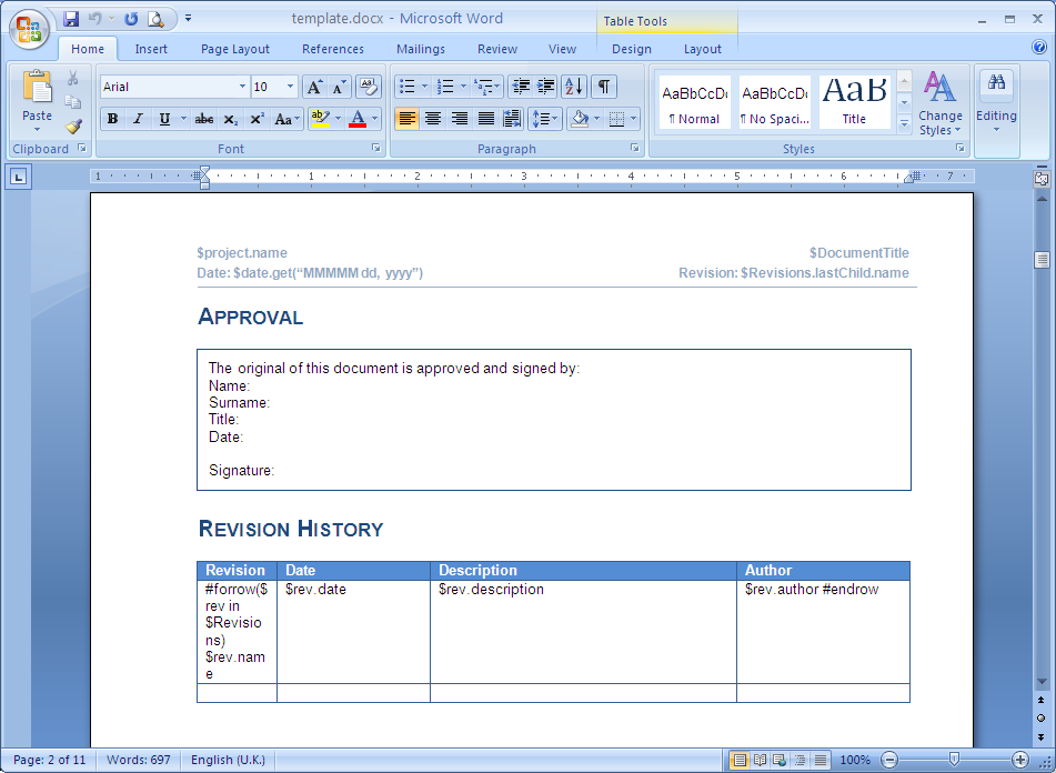 api documentation template word - microsoft office word document docx magicdraw 18 4